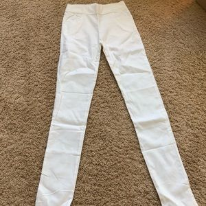 Pants - white jeggings